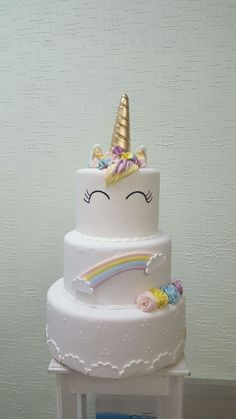 Bolo Unicornio Birthday Cake Cake Desserts