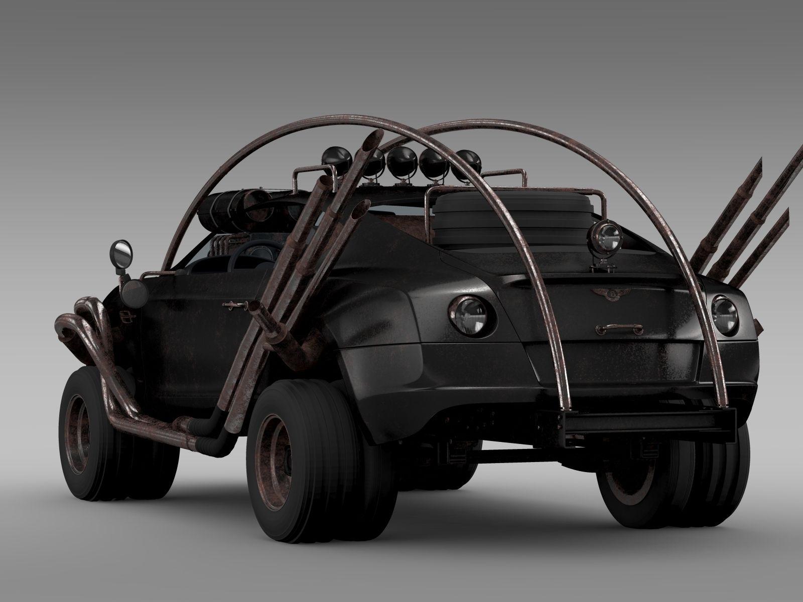 Mad Max Grizzly Bentley Continental GT 2015 Bentley
