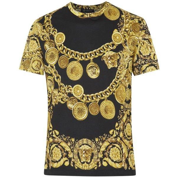 Vêtements Homme, Mode Homme, T-shirt Hommes Versace, Conceptions De Chemise, 72c7cd740a1