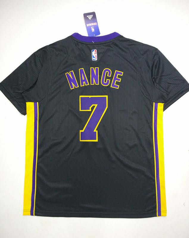 309b4a96a3d ... jerseys site httpwww Los Angeles Lakers 7 Larry Nance Jr. Hollywood  Nights with sleeve .