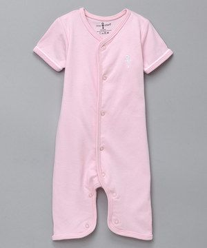 Love this little pharō Pink Ankh Egyptian Cotton Romper - Infant by little pharō on #zulily! #zulilyfinds