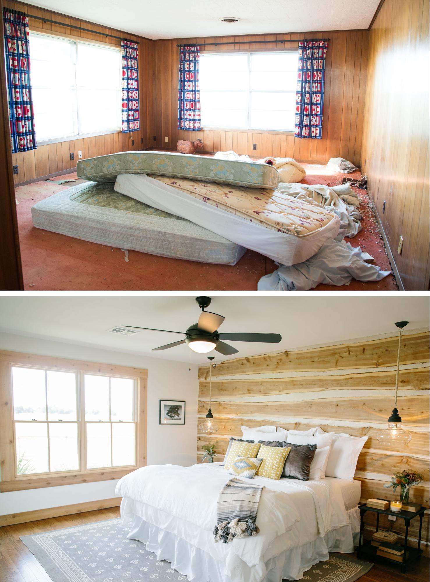 Relooking Maison Avant Apres fixer upper en 2020 | relooking chambre, déco maison et