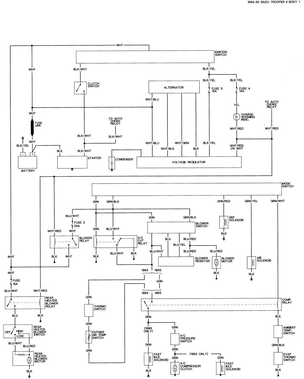 Isuzu Rodeo Radio 6cd Wiring Diagram name Rodeo