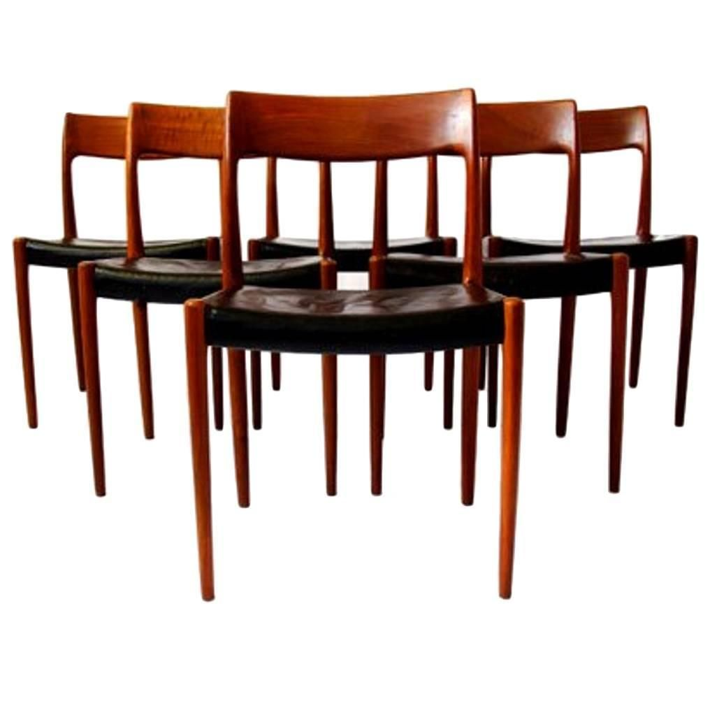 set of six dining chairs by svegards markaryd - Set Of Six Dining Room Chairs