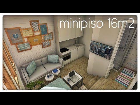 Minipiso 15m2 un pisito para estudiante serio youtube - Decoracion piso de estudiantes ...
