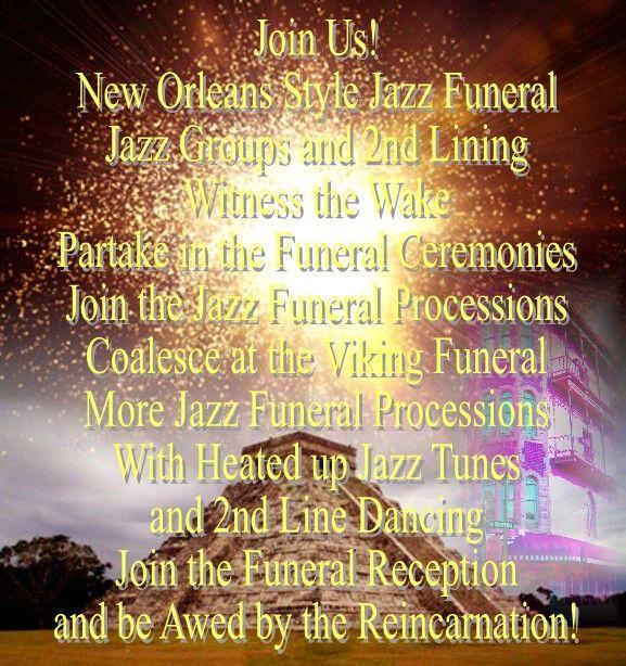 Reception Ceremony Burial: Describing Fri, Dec 21 Activity