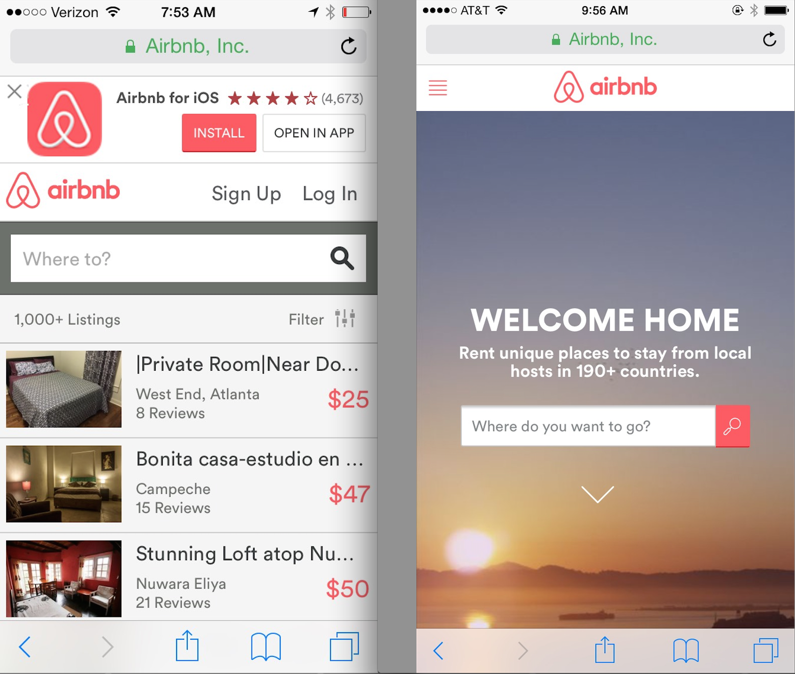 Here's the strategy behind Airbnb's mobile web redesign