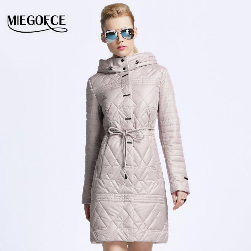 Купить товар MIEGOFCE 2016 женский пуховик пальто женское весна ...