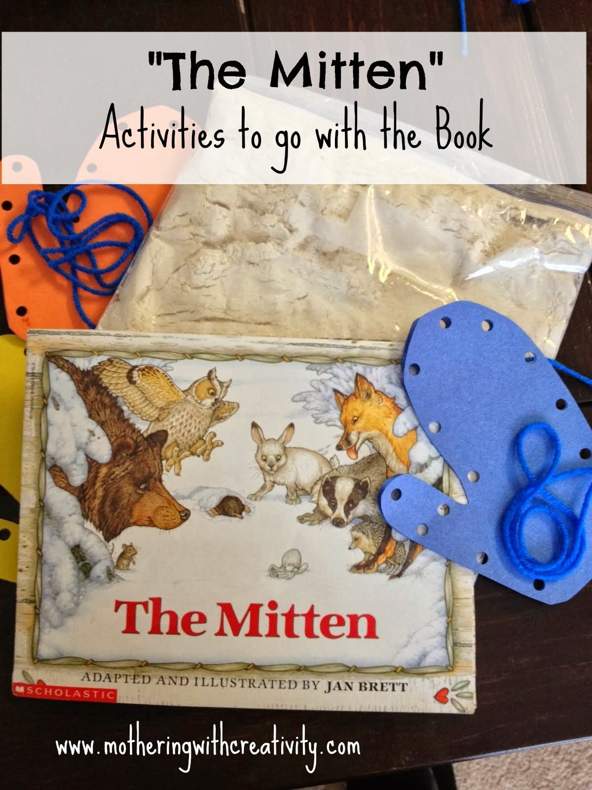 The Mitten Activities For The Book
