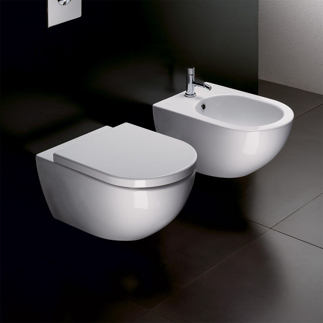 Catalano Sfera Wall Hung Toilet with Standard Seat and Cistern with ...