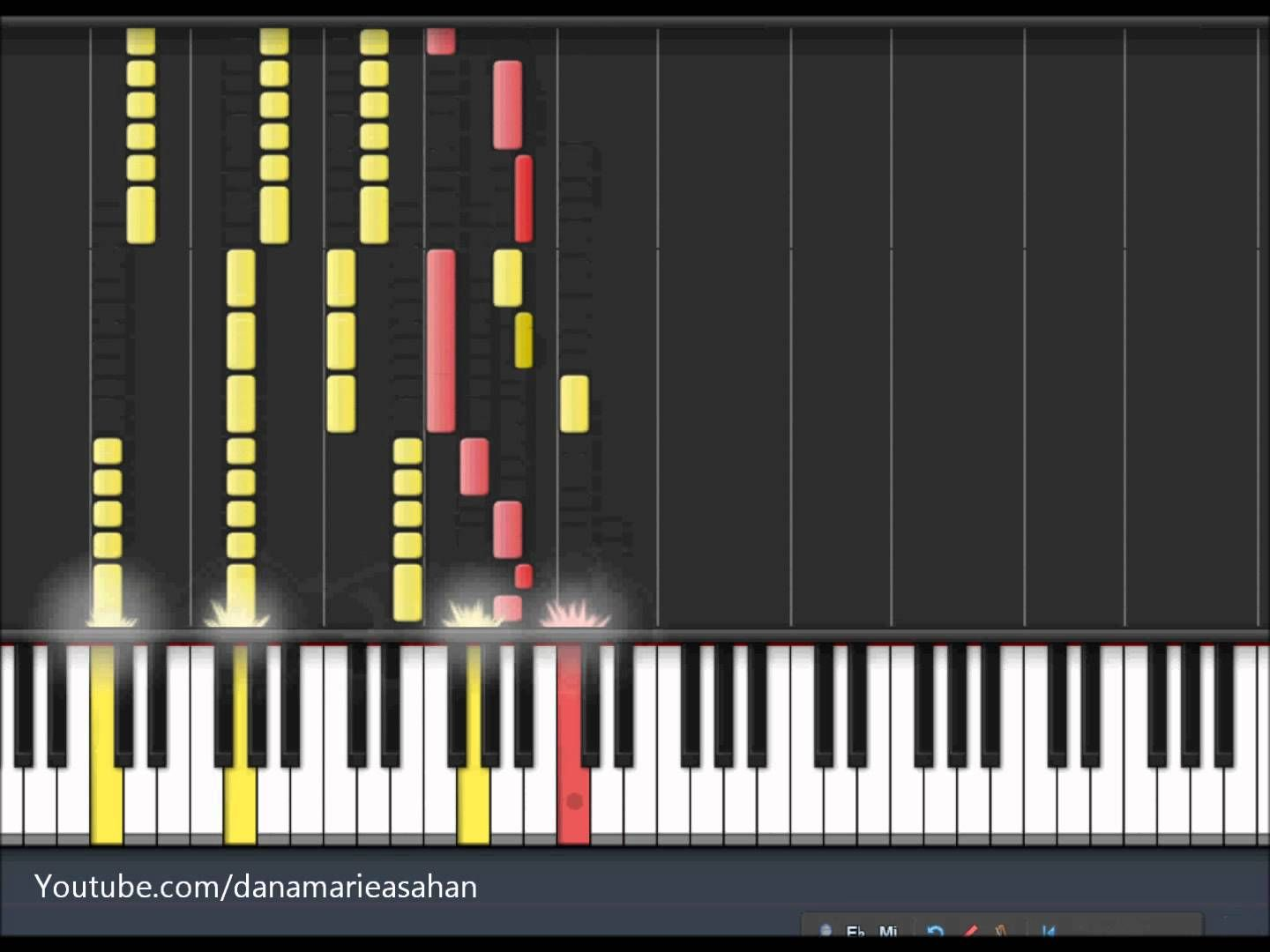 Your Guardian Angel Red Jumpsuit Apparatus Piano Tutorial My