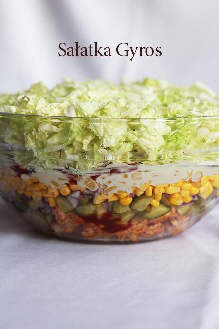 Salatka Gyros Smaczna Salatka Gyros Przepis Marty Salad Recipes Recipes Healthy Recipes
