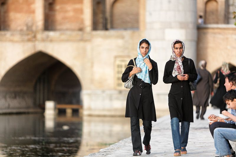 Photograph Two women walking in Isfahan, Iran by Damon Lynch on 500px