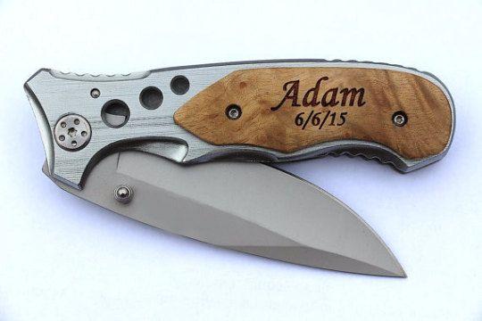 Custom Engraved Pocket Knife Personalized by EverythingDecorated