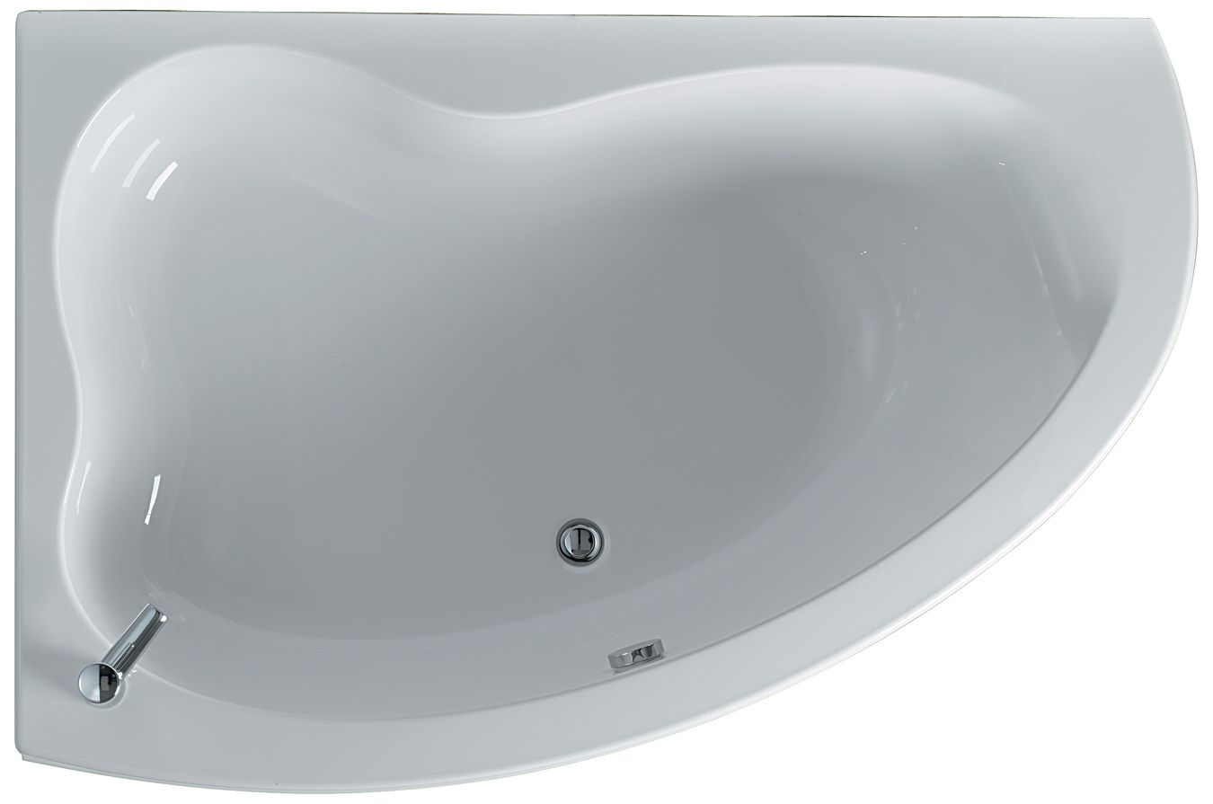 Ideal Standard Create Idealform Offset Corner Bath 1600 x 1050mm ...