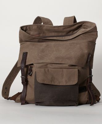 43e955e10 Canvas/leather Backpack. Dope. | Things that make me hate my current ...