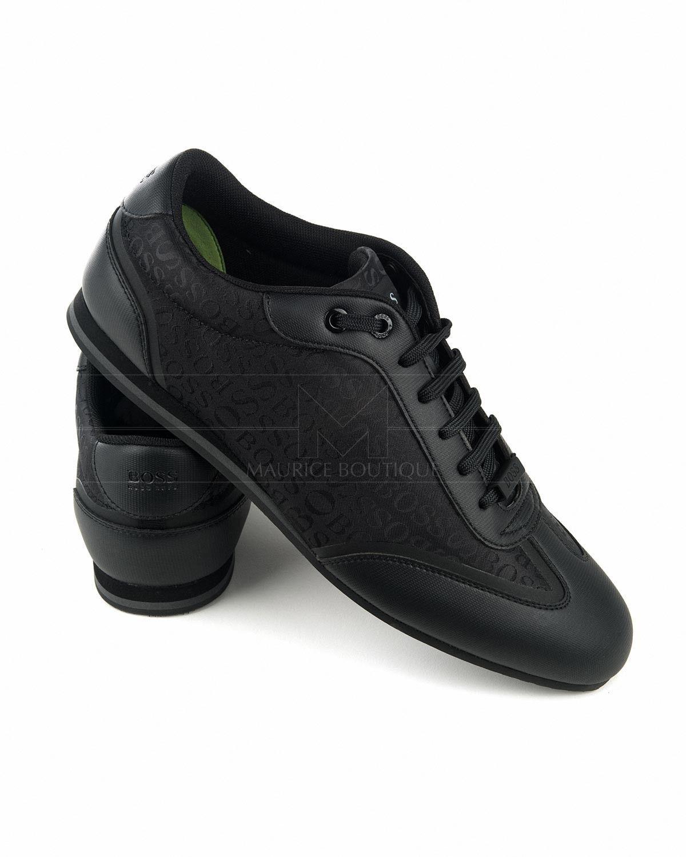 59e00efa7 Zapatillas Hugo Boss Negro - Lighter Lowp Logo en 2019 | Clynes ...