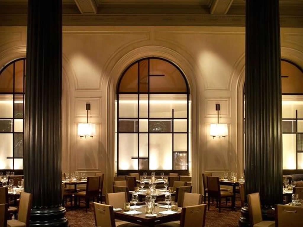 Steak House Hospitality Interior Design Of Bourbon San Francisco