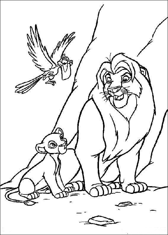 Simba Coloring Pages Resim Kitap