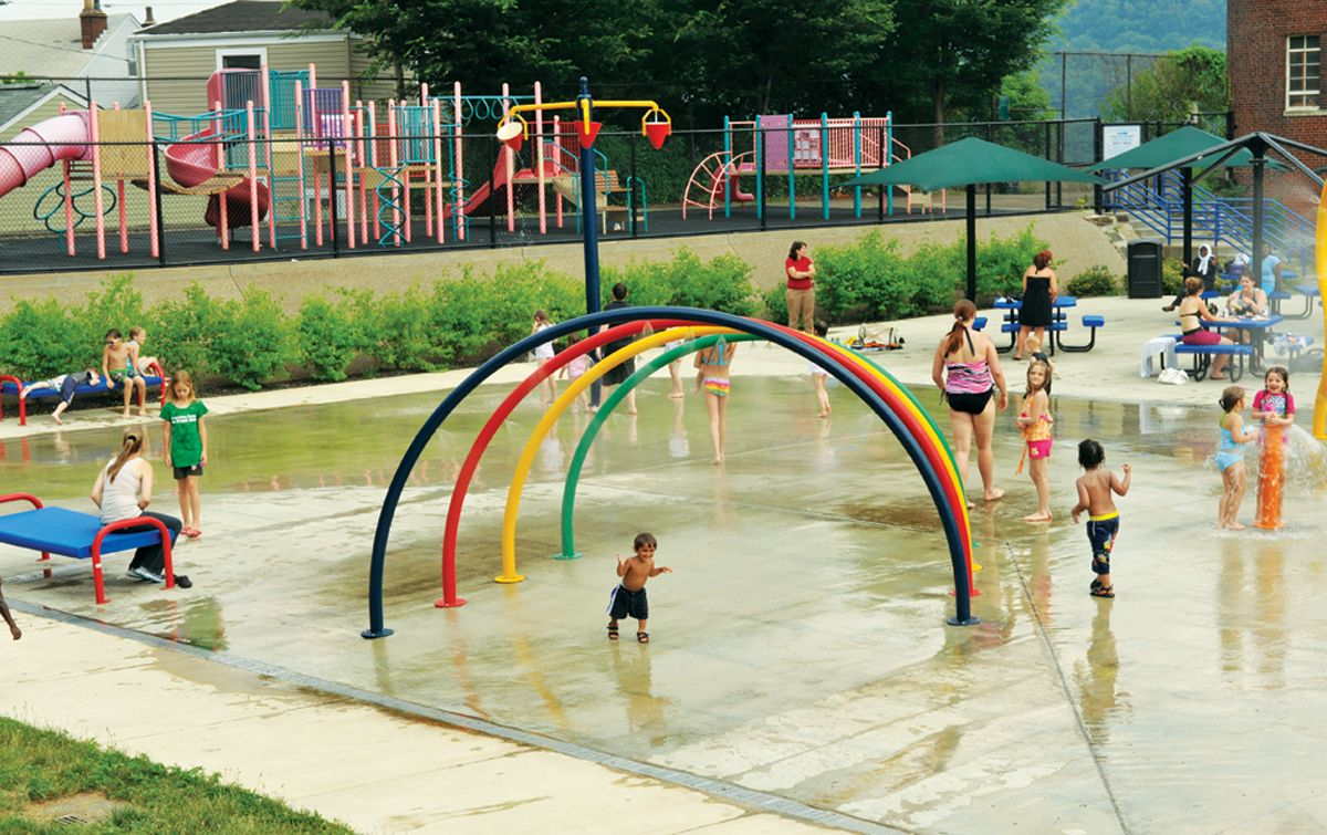Troy Hill Splash Pad Fun Stuff to Do w/Kids {{Local