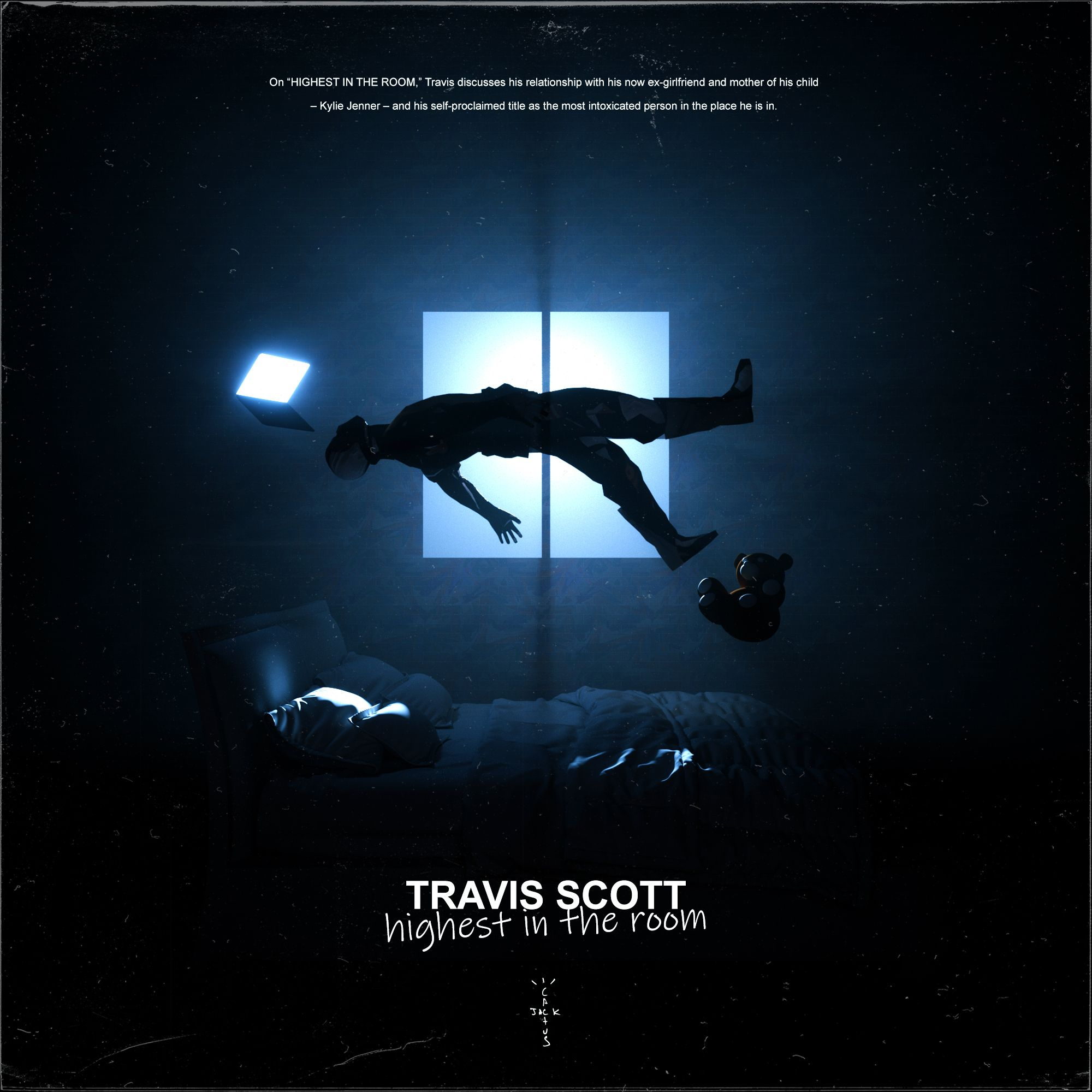 Travis Scott Highest In The Room 3d Render Alternative Cover By Jeroenbreevoort Travis Scott Wallpapers Travis Scott Travis Scott Album