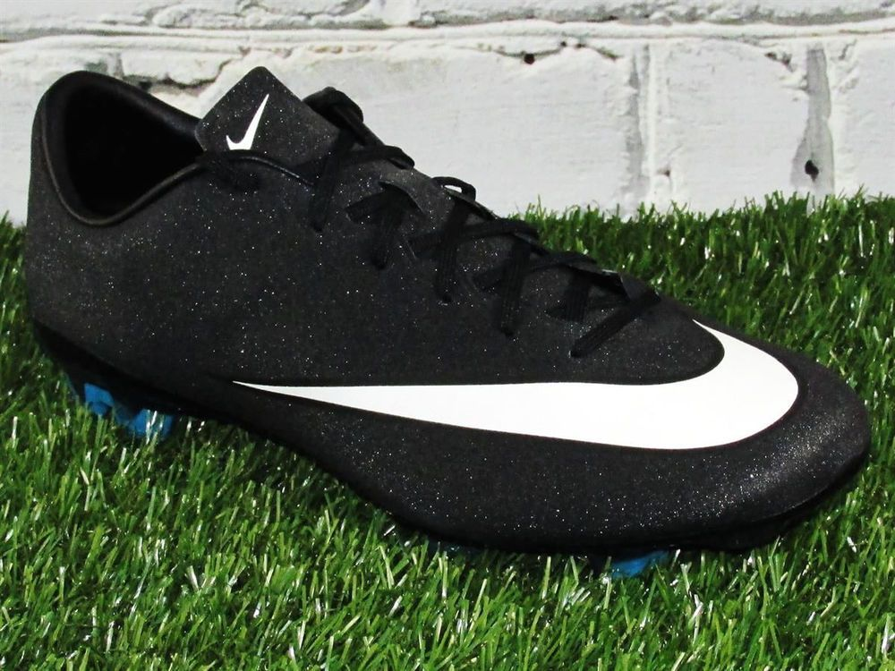 timeless design ec237 43d17 Mens Nike Veloce II CR7 FG Soccer Cleats Black Sparkle ...