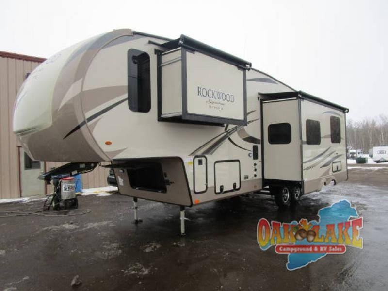 New 2018 Forest River Rv Rockwood Signature Ultra Lite 8301ws
