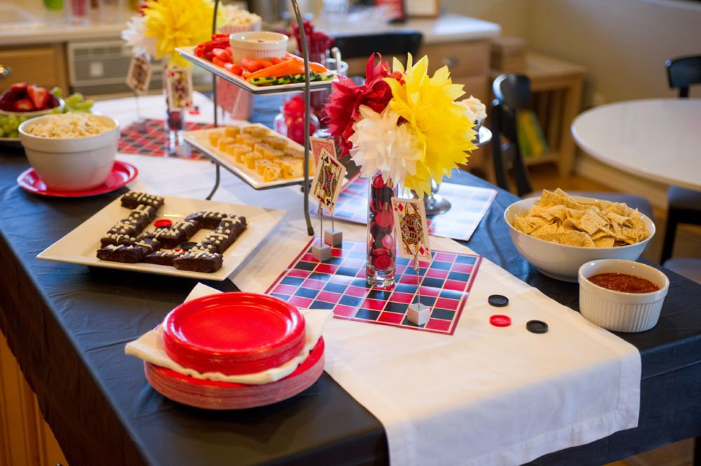 Kids Game Night Party Ideas