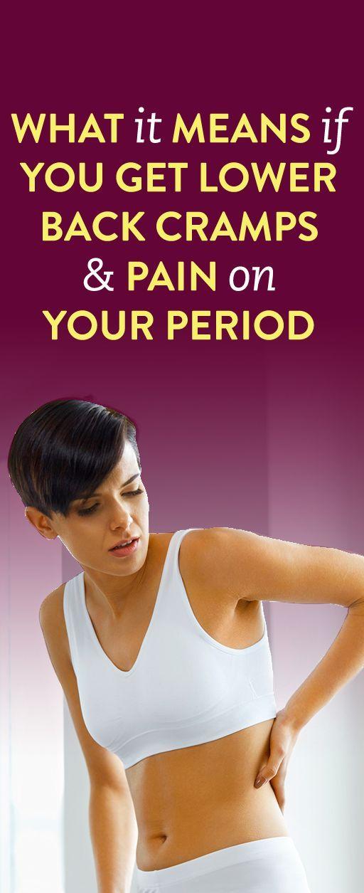 47++ Menstrual cramps lower back ideas