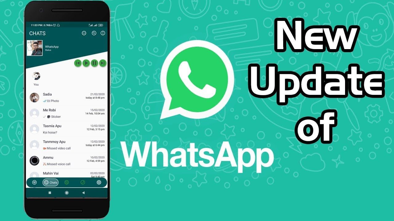 Whatsapp Update Whatsapp New Theme 2020 March Best Theme Update Whatsapp Update Download Free Movies Online