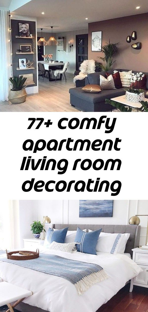 77+ comfy apartment living room decorating ideas 77+ Comfy Apartment Living Room Decorating Ideas  Easy, Breezy Summer Decorating Ideas - jane at home Ebern Designs Changir 81