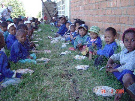 Meal time, on Madagascar