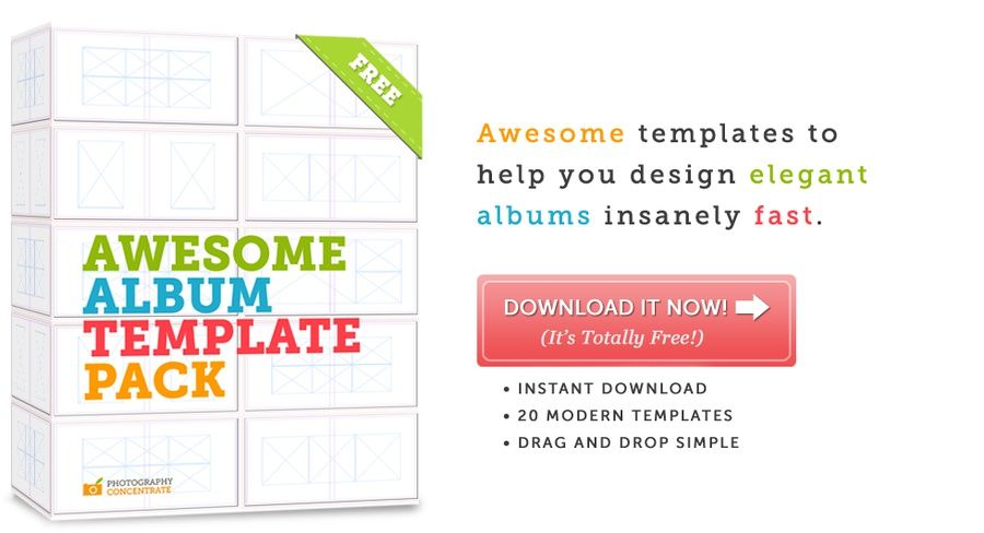 Free InDesign Album Template Pack design Pinterest Template - photo album templates free