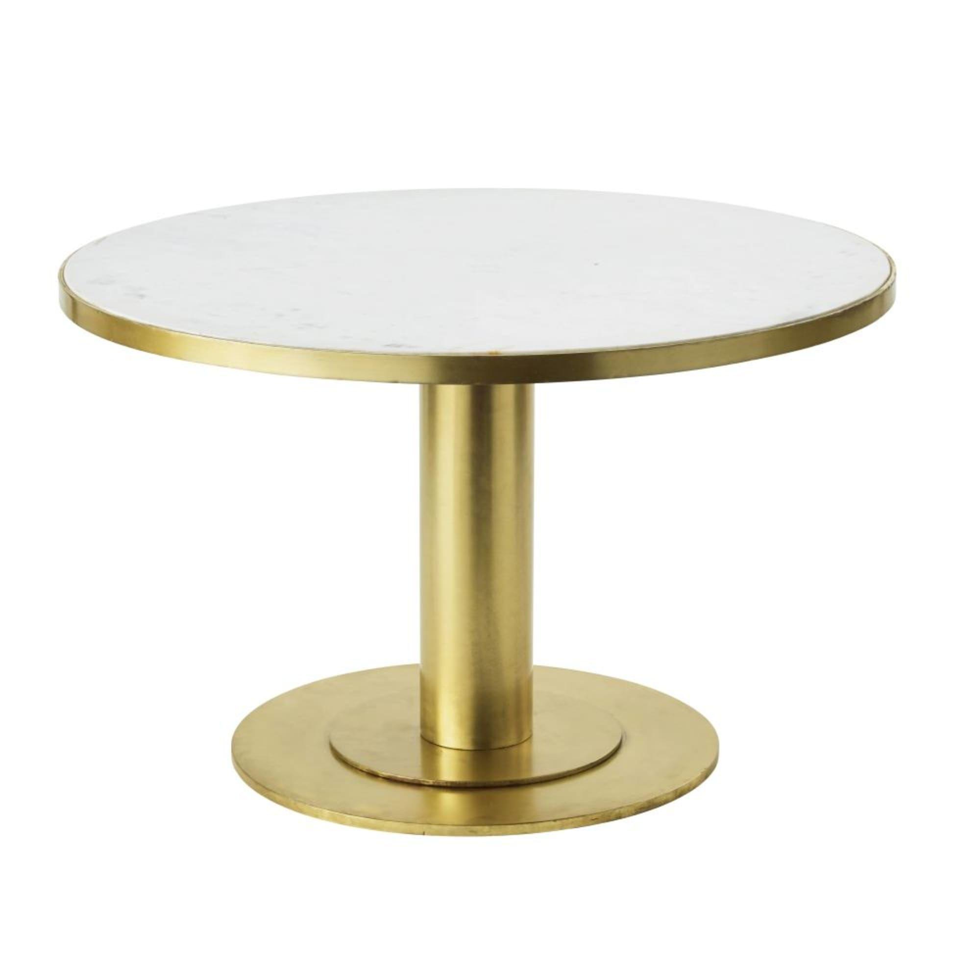Table Basse Ronde En Marbre Blanc Et Metal Coloris Laiton Louxor Maisons Du Monde En 2020 Table Basse Ronde Marbre Blanc Maison Du Monde Table Basse