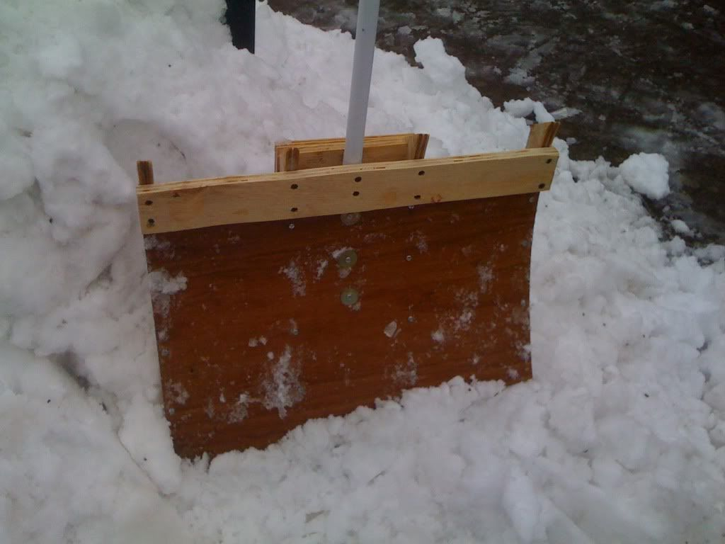 Diy Snow Shovel Snow Shovel Diy Bar Marine Grade Plywood