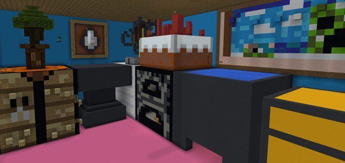 Parkour Paradise: Giant House [Parkour] Map for Minecraft PE