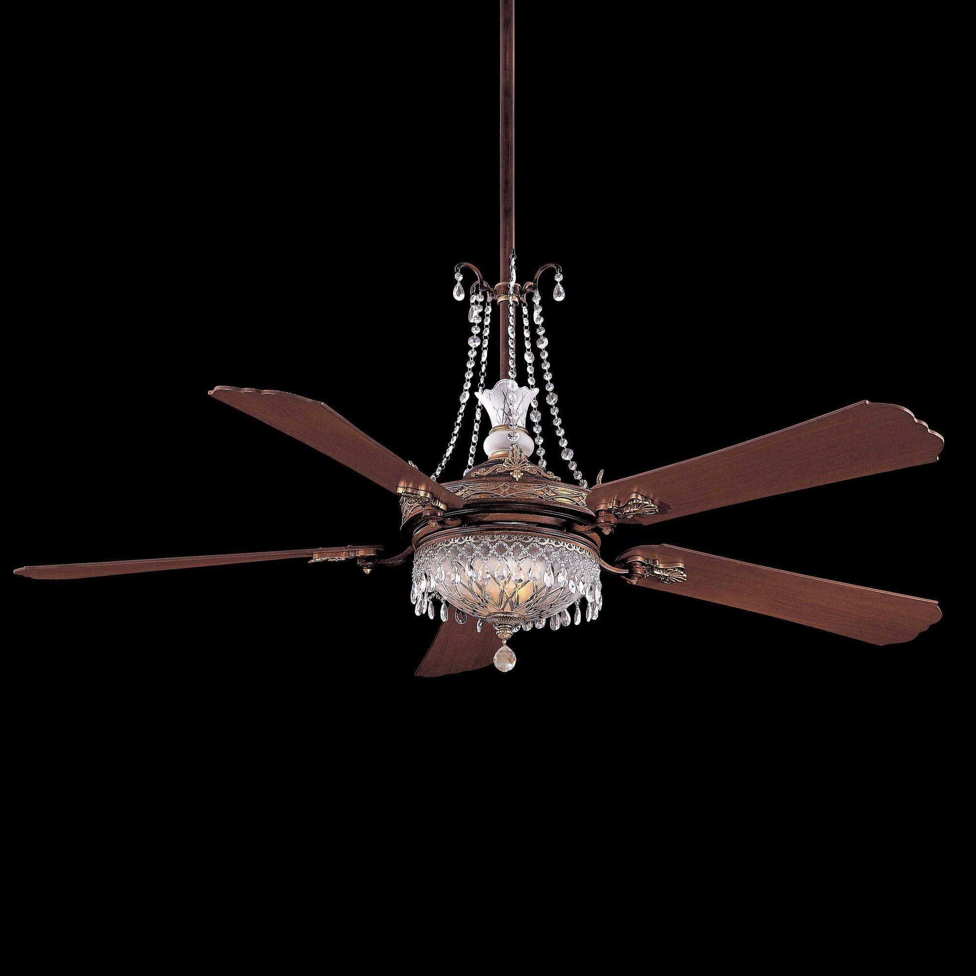 Cristafano Chandelier Ceiling Fan Light Kit