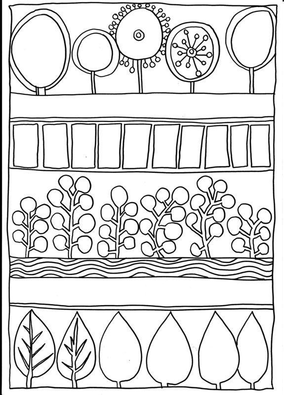 kunstnere hundertwasser  googlesøgning  zentangle