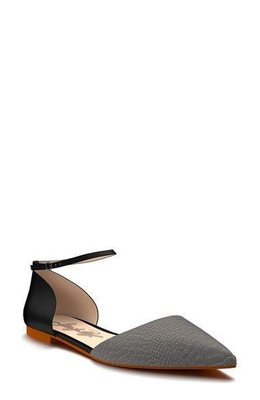 Shoes of Prey d'Orsay Flat (Women) | Nordstrom