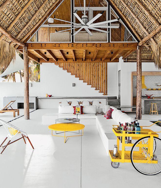 Charming Casa Azul, A Beach House In El Salvador By Architect José Roberto Paredes.
