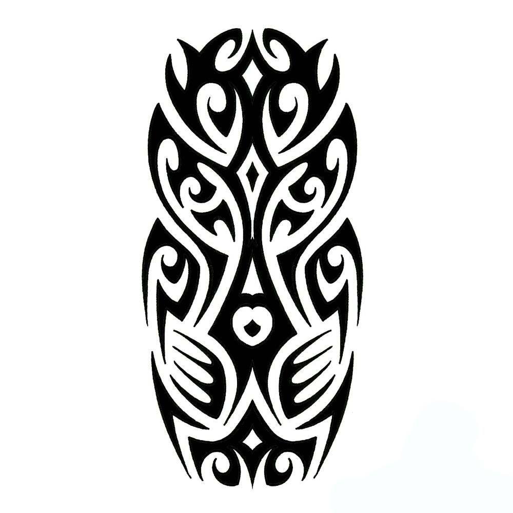 Half Sleeve Tribal Tattoo Design Zodiac Symbol Tattoos Printable Designs Kamistad Celebrity