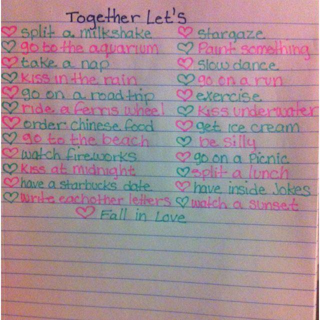 dating list tumblr