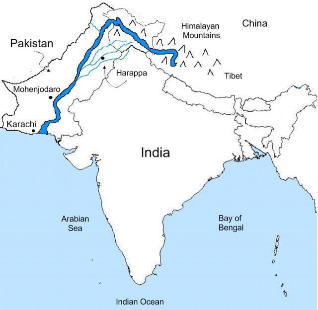 The Indus River Rivers India And Mohenjo Daro