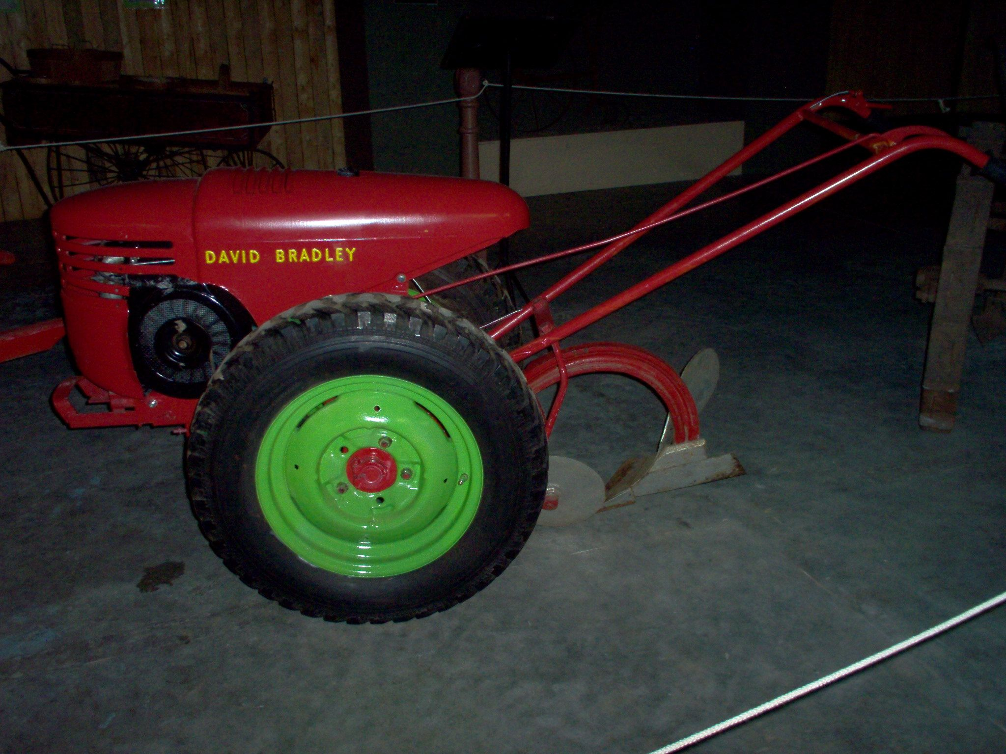 Antique Two Wheel Tractor : Complete restoration of a david bradley walk behind