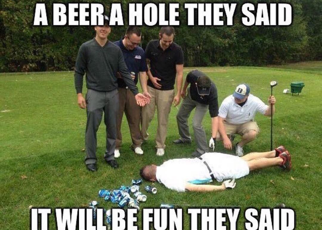 16 Golf Memes That'll Make Your Day | SayingImages.com #golfhumor