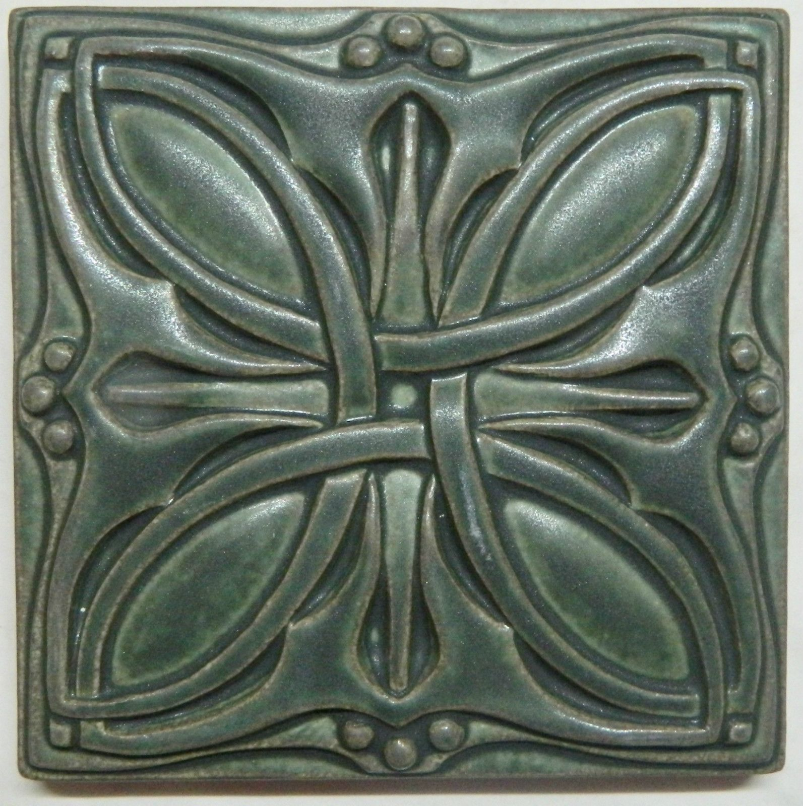 "Motawi Art Tile Cicero 6""x 6"" Louis Sullivan Arts and"