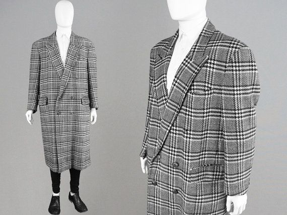 Vintage CACHAREL 80s Oversized Coat Pure New Wool by ZeusVintage