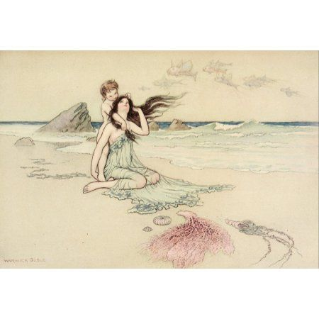 Home Fairytale Art Warwick Goble Kids Canvas Art