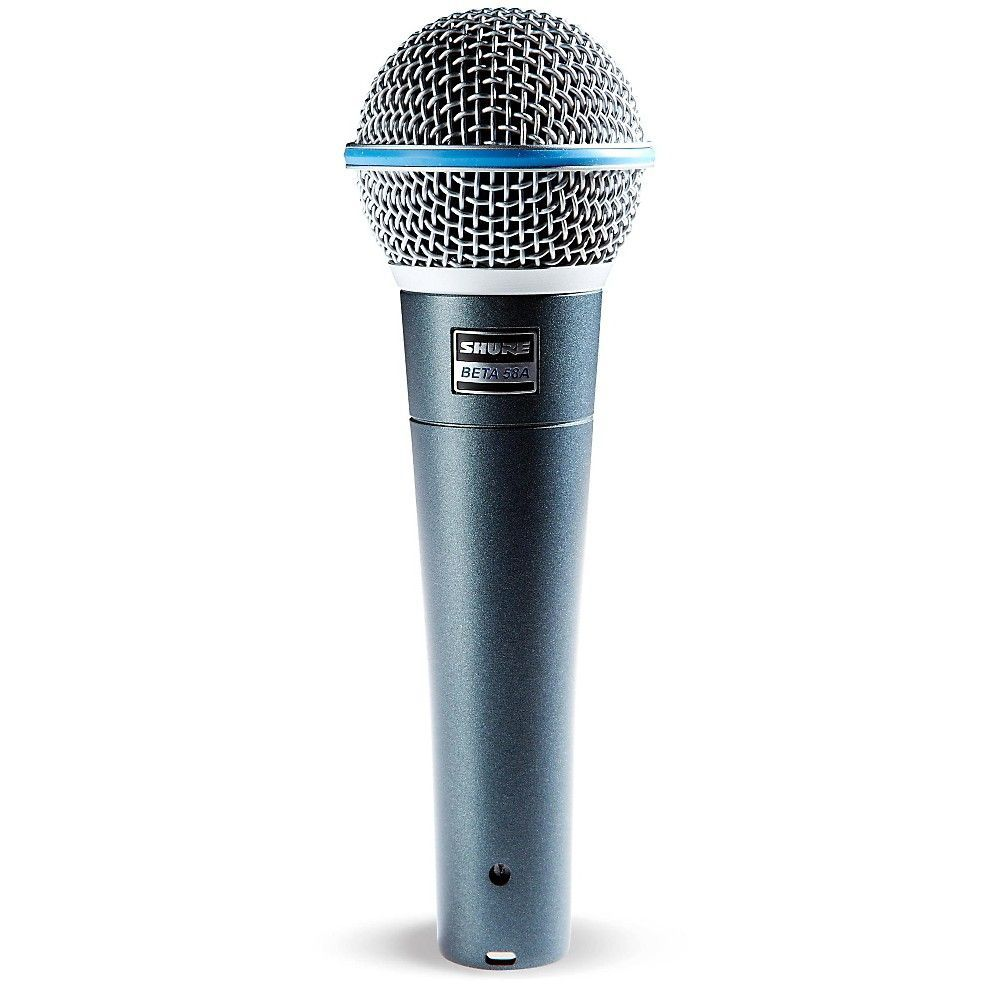 Shure Beta 58a Supercardioid Dynamic Vocal Microphone Microphone Mic Vocal
