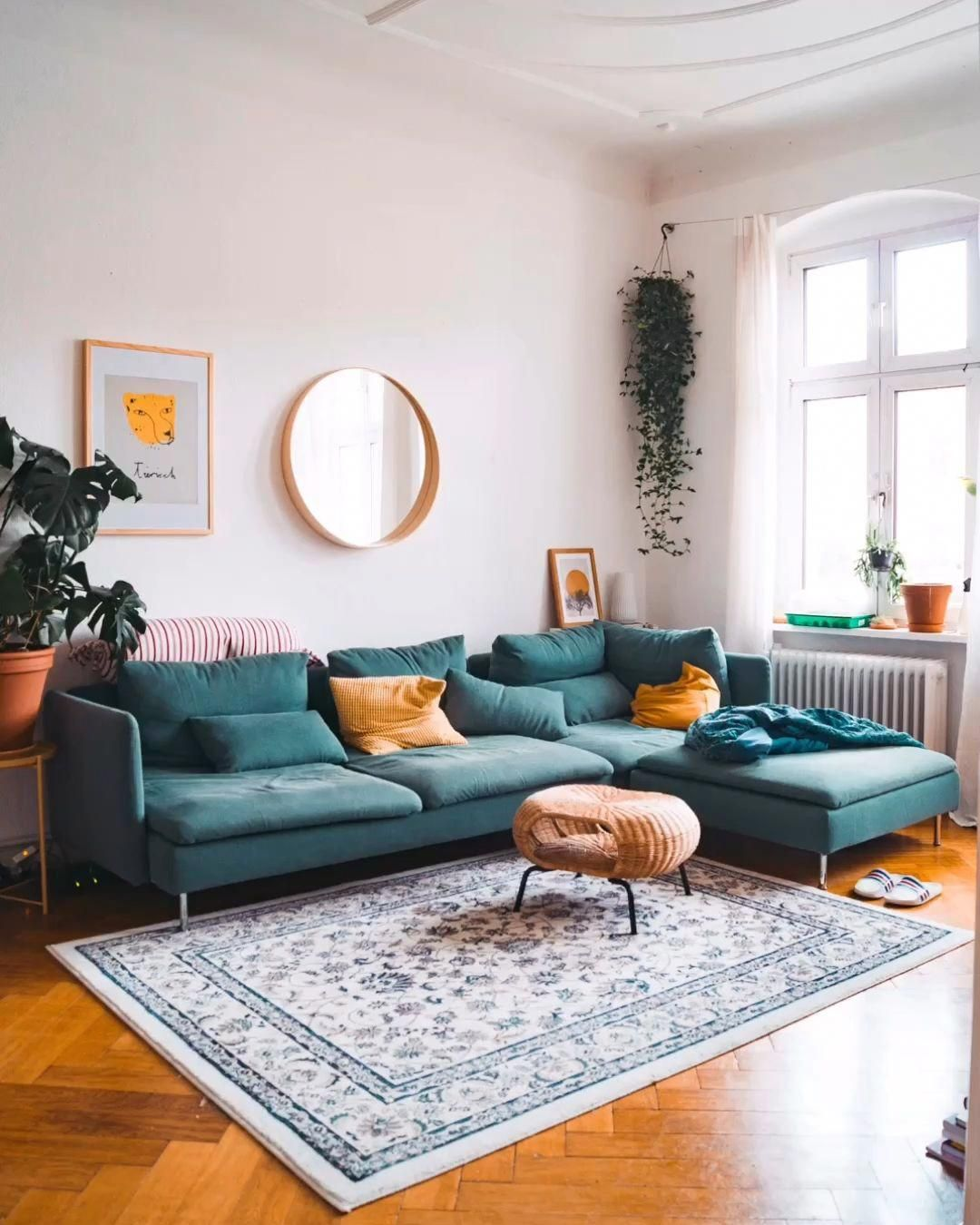 Sich Den Norden Nachhause Holen Und Das Vollig Ohne Reisen Mit Ein Paar Hand Cozy Living Room Design Living Room Decor Apartment Mid Century Living Room Decor